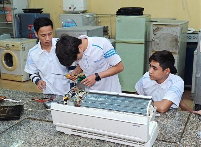 trường có ngành điện lạnh